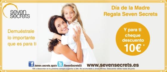 El Día de la Madre, regala Seven Secrets