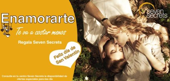Seven Secrets te desea Feliz San Valentín