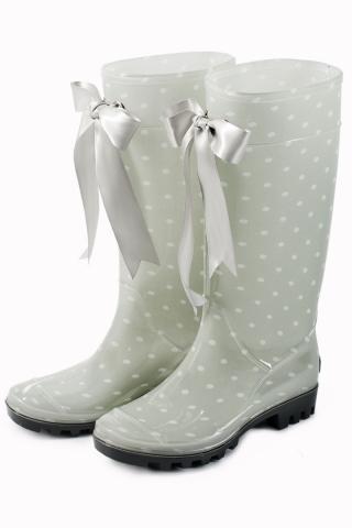Botas de agua súper-fashion