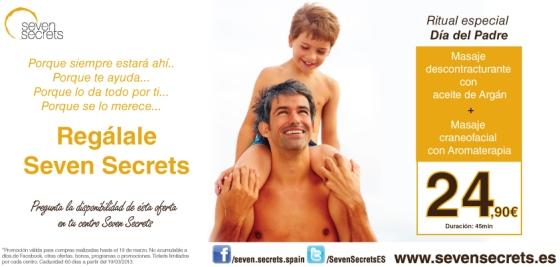 El regalo de Seven Secrets para el Día del Padre :)