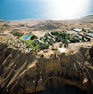 Kibbutz Hotel, un lujoso espacio en el Mar Muerto