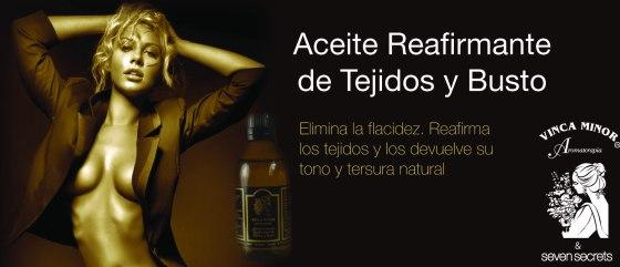 Prueba el aceite corporal reafirmante de senos Vinca Minor en Cosmética natural Avanzada.