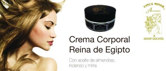 Crema corporal reina de Egipto: con aceite de almendras, incienso y mirra. Cómprala aquí por tan solo 15,75 euros!