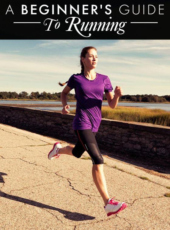 'Guía para un/a corredor/a novato' Imagen: daylymakeover.com (Pinterest)